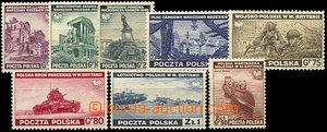 37472 - 1941 Exilové vydání , Mi.360-367, kat. 45€