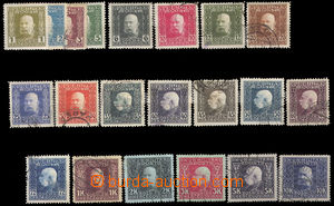 37514 - 1912 BOSNIA And HERCEGOVINA Mi.64-84 FJ I., MLH,MH, cat. 240