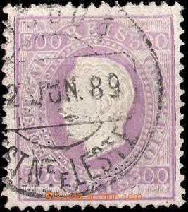 37515 - 1870 Mi.45yB Luis I., koncová hodnota, překrývající raz