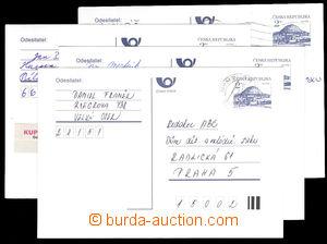 37554 - 1993 CDV3B Říp, 4 pcs of, well preserved, clear postmark,