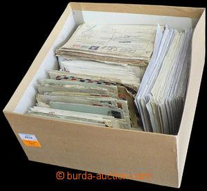 37575 - 1920-90 EUROPE  větší sestava dopisů v krabici s víkem,
