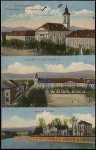 37621 - 1916 Terezín - Theresienstadt, posádkový kostel, Paradepl