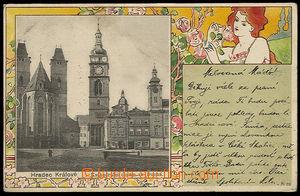 37627 - 1900 Hradec Králové - Kadedrální chrám sv. Ducha, seces