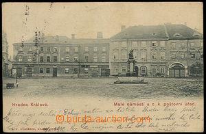 37631 - 1900 Hradec Králové - Malé náměstí a C.k. poštovní �
