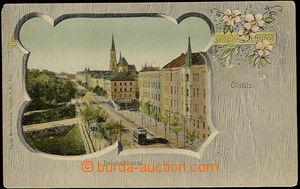 37634 - 1900 Olomouc - Olmütz, Bahnhofstrasse, Station street. with