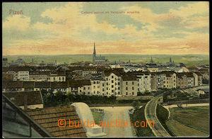 37645 - 1908 Plzeň - general view from veřejného storage area, ra