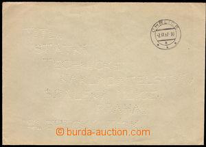 37663 - 1967 SLEPECKÁ ZÁSILKA, dopis s vypíchanou adresou v latin
