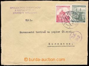 37690 - 1939 Customs control  letter from Bohemia-Moravia to Slovaki