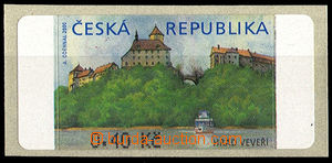 37738 - 2000 Pof.AT1 Veveří (castle) 0,40CZK without *, variant I,