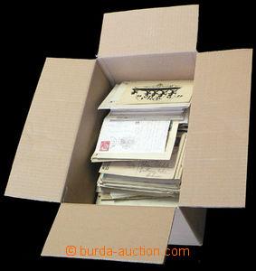 37774 - 1940-80 EUROPE  sestava celistvostí v krabici, část FDC,