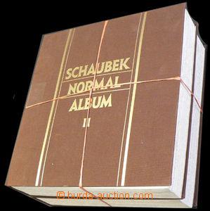 37796 - 1860-1936 EUROPE  2 pcs of album/-s Schaubek Normal Album I.