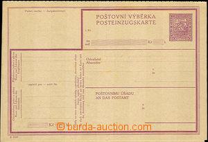 37807 - 1929 CPV12B, bez poškození, kat. 2900Kč