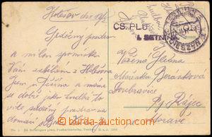 37830 - 1919 DR Teschen 1/ 12.II.19 doplněné řádkovým raz. Čs.
