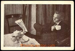 37887 - 1930? FILIP Francis - Bezruký Frantík, postcard signed leg