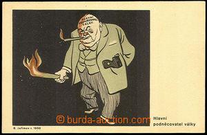 37890 - 1950 Winston CHURCHILL - Hlavní podněcovatel války, karik