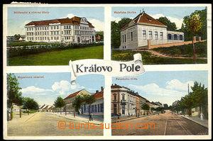37899 - 1914 KRÁLOVO POLE - 4-okénková, školy, mateřská školk