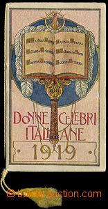 37903 - 1919 Religious calendar Milan - Italy, DONNE CELEBRI ITALIAN