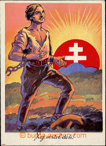 37921 - 1939 Slovakia - Hej svitol deň!, national propaganda, large