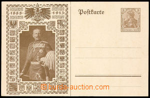 38000 - 1913 PC 3Pf Mi.89 with additional-printing emperor William 1