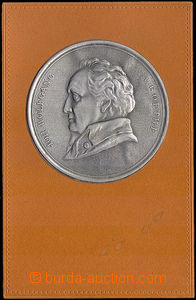 38007 -  Medallion J. W. Goetheho - plastic metal plastic film on/fo