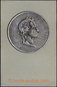 38009 -  Medallion F. Schillera - plastic metal plastic film on/for