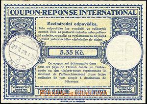 38053 - 1938 CMO7, CDS Terezín 27.II.28?, good condition, c.v.. 130
