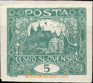 38216 - 1918 ČSR I HRADČANY Pof.4 I.typ, ZP22,TD VIII(!),very rare p