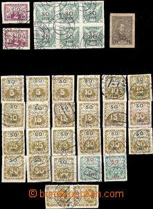 38222 - 1920 ČSR I  SO1920  sestava plebiscitních zn. a několika