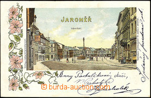 39862 - 1899 Jaroměř, square, color collage lithography, single-view