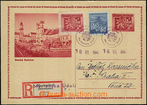 39980 - 1945 CDV75A uprated by. Pof.365, 377 and sent as Reg, provis