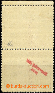 40001 - 1939 Zsf.20SOP, overprint 4CZK with upper coupon and overpri