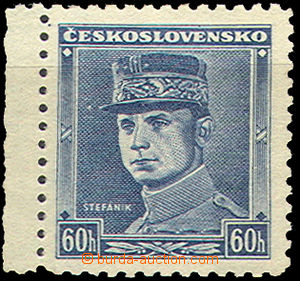 40003 - 1939 Alb.1, blue Štefánik with L margin, small wrinkle in pa