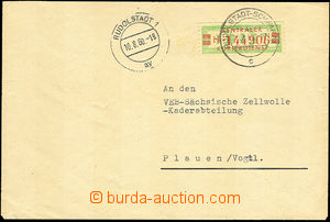 40140 - 1960 letter transported Central courier service ZKD, with Mi