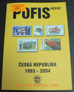 40207 - 2005 POFIS specializovaný katalog Česká republika 1993 -
