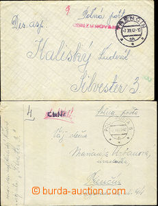 40214 - 1942 letter sent member formation Silvester 3 (13.letka Slov