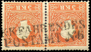 40291 - 1859 řádkové raz. VLP K.K.FAHRENDES / POSTAMT No.6, (Prag