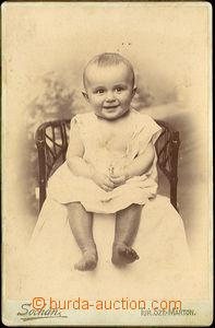 40313 - 1897 SOCHÁŇ Pavol (1862–1941), Foto ročního syna Pavla