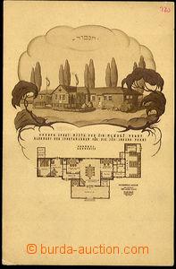 40389 - 1925 JUDAIKA  propagační pohlednice ve prospěch stavební