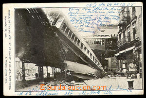40896 - 1905 New York, srážka vlaků metra, September 11, 1905 (11.9.