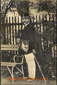 40961 - 1913 figure postman/-en with brašnou (evidently from post L