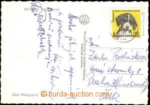 40975 - 1966 KUBELÍK Rafael  pohlednice zaslaná ze Salzburgu, spol