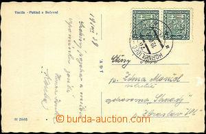 40984 - 1939 pohlednice s předběžným razítkem VLP č.76a HORNÍ