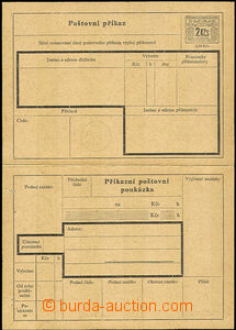 41037 - 1946 CPA4 Postal order, undetached, folded in/at pin hole (o
