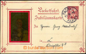 41107 - 1898 BERLIN  privátní jubilejní celina BERLINER PACKETFAH