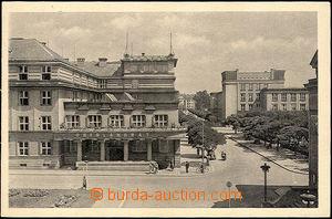 41128 - 1940 Pardubitz - Pardubice, budova Oberlandratu, čb, nepou�