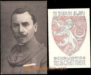 41143 - 1919? MUCHA Alfons (1860–1939): ex libris Ni zisk, ni slá