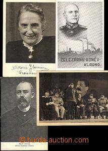 41165 - 1920-45 comp. 7 pcs of Ppc : portrait Professor. Denise, Dol