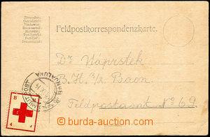 41184 - 1914 FP card sent from zápolí on/for FP, CDS K.u.K.. MILIT