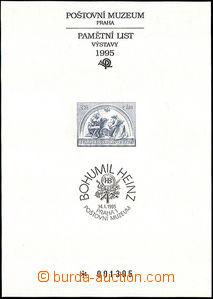 41192 - 1995 PTM2 Heinz (ukolébavka), mint never hinged, c.v.. 1000