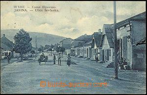 41195 - 1922 Podkarpatská Rus - Jasina, ulice Ševčenka, jednozáb